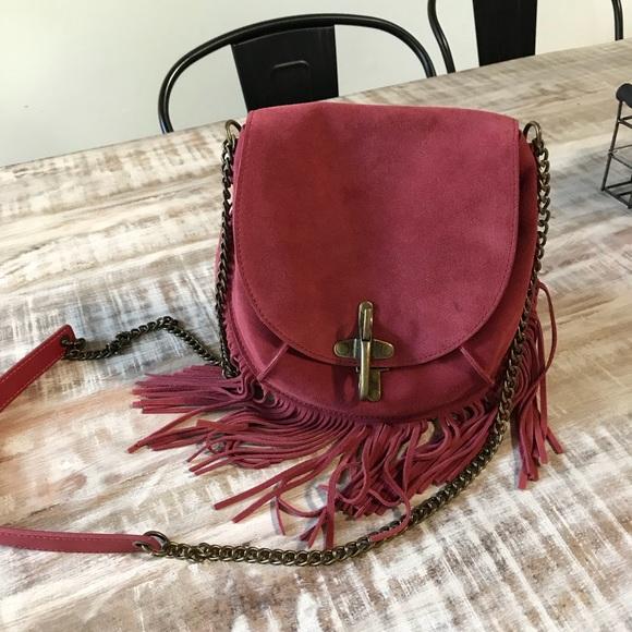 Lucky Brand Handbags - Lucky brand Maya Fringe Crossbody 34b05f69e8254